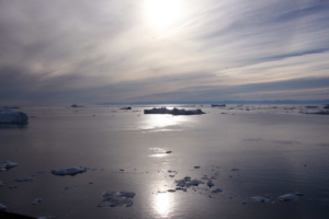 Sunset at Disko Bay