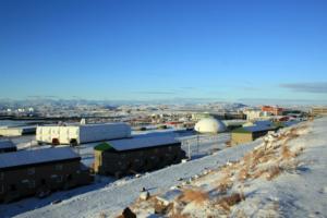 Winter in Iqaluit, Nunavut