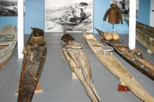 Kayaks, Nunatta Katersugaasivia Allagaateqarfialu (Greenland National Museum and Archives), Nuuk