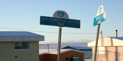 Naming space in Iqaluit