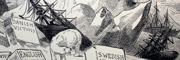 F. Graetz, illustration in Puck Magazine, 1884 (Detail)